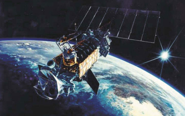US military satellite explodes above Earth