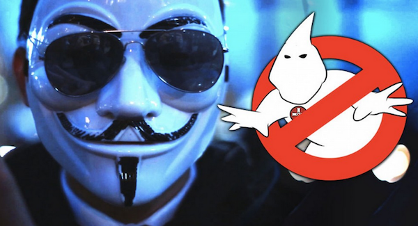 Anonymous Takes Down KKK Website