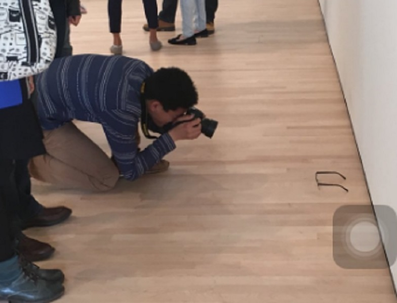 Teen Leaves Glasses on Floor of Art Gallery — Everyone Assumes It's an Art Installation