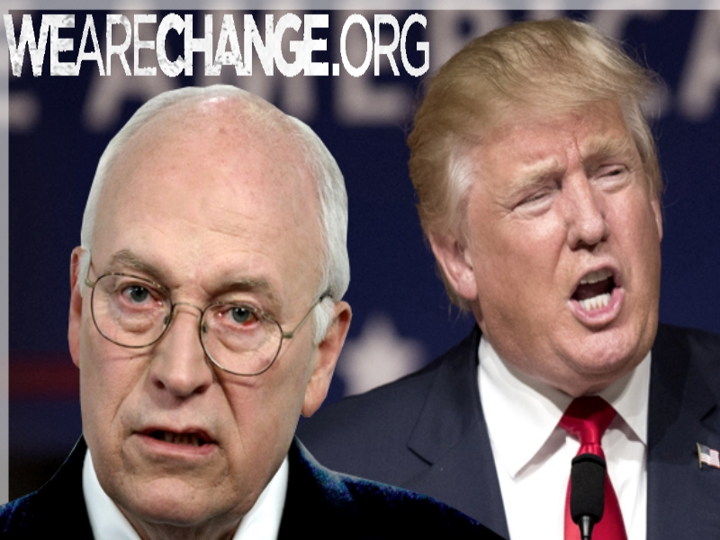 Dick Cheney: I Will Support Trump