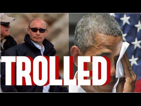 Russia's Putin Epically Trolls Barack Obama, Hillary Clinton & Democratic Establishment