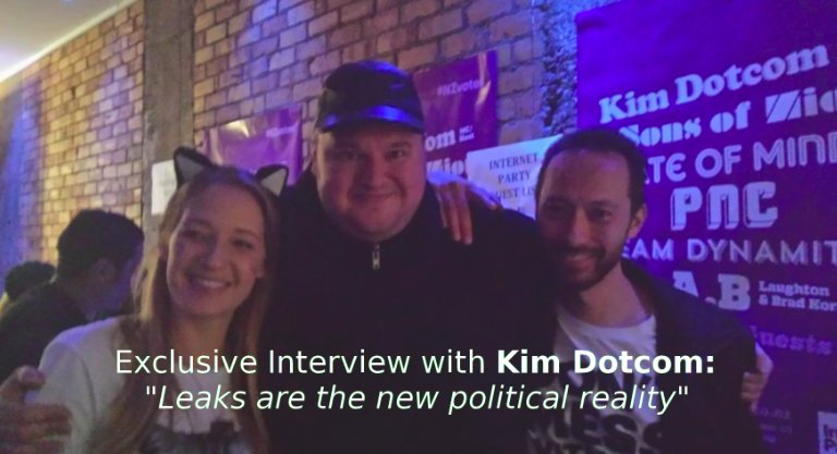 "Kim Dotcom BOMBSHELL: ""2TB Of Leaked Government Data Will Stun New Zealand In 2017"""