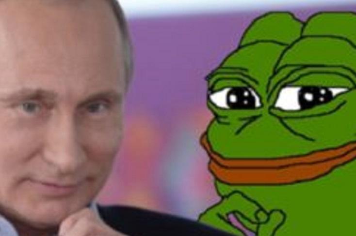 Based Russian Embassy Tweets Pepe the Frog at Theresa May