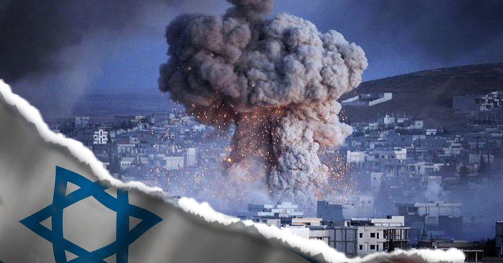 REPORT: Israeli War Planes Bomb North West Damascus