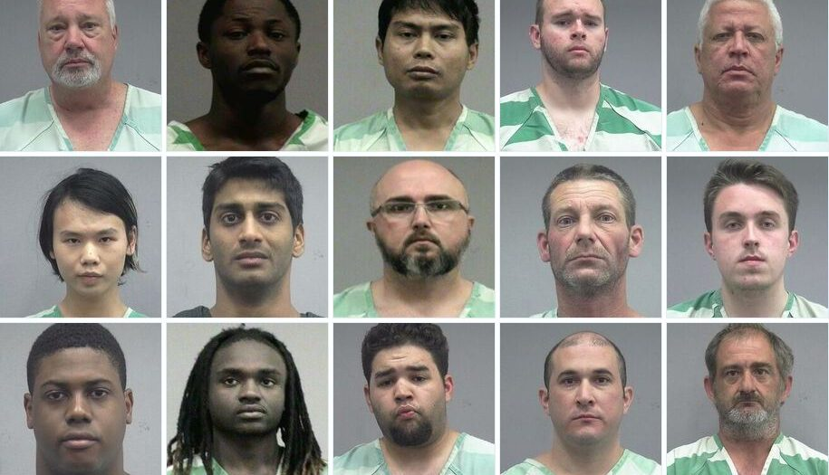 15 Men Arrested in Florida On Child-Sex Charges
