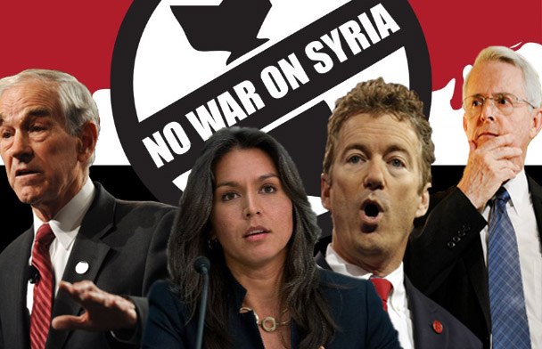 #NoWarWithSyria: Meet The Lawmakers Who Oppose War On Syria