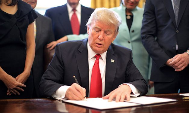 WATCH: Trump Signs Buy American And Hire American Executive Order