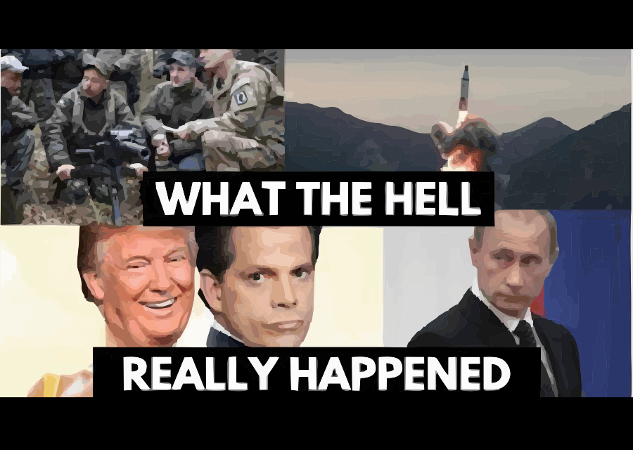 Trump: Triggered into Reason, Stocking the Swamp, Cold War 2.0