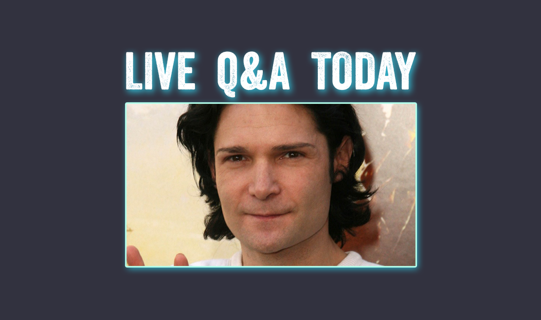 Corey Feldman To Hold Live Question And Answer Event Today!