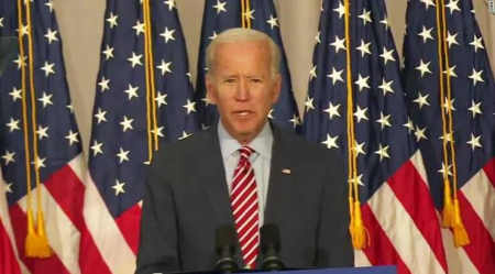 "Biden Lashes Out at Trump: ""You're Not Going To Destroy Me"""