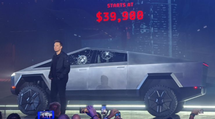 """""""Oh My F**king God"""": Elon Musk's Bizarre Cybertruck Unveiling Goes Horribly Wrong"""