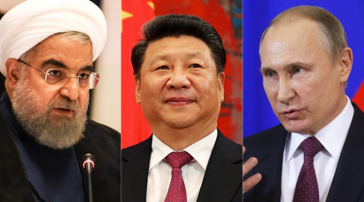 """Iran, China, and Russia to Send Chilling """"Message to the World"""" in Unprecedented War Games"""