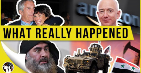 Ghislane Maxwell Is Buddies With Bezos?! America Takes The Oil!