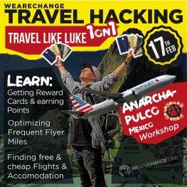 WeAreChange Travel Workshop