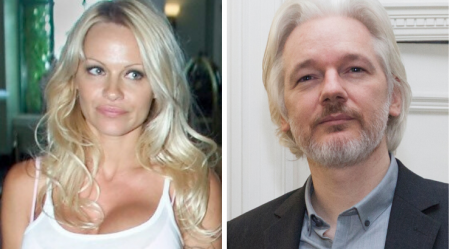Pamela Anderson Threatened by Prison Chief While Visiting Assange