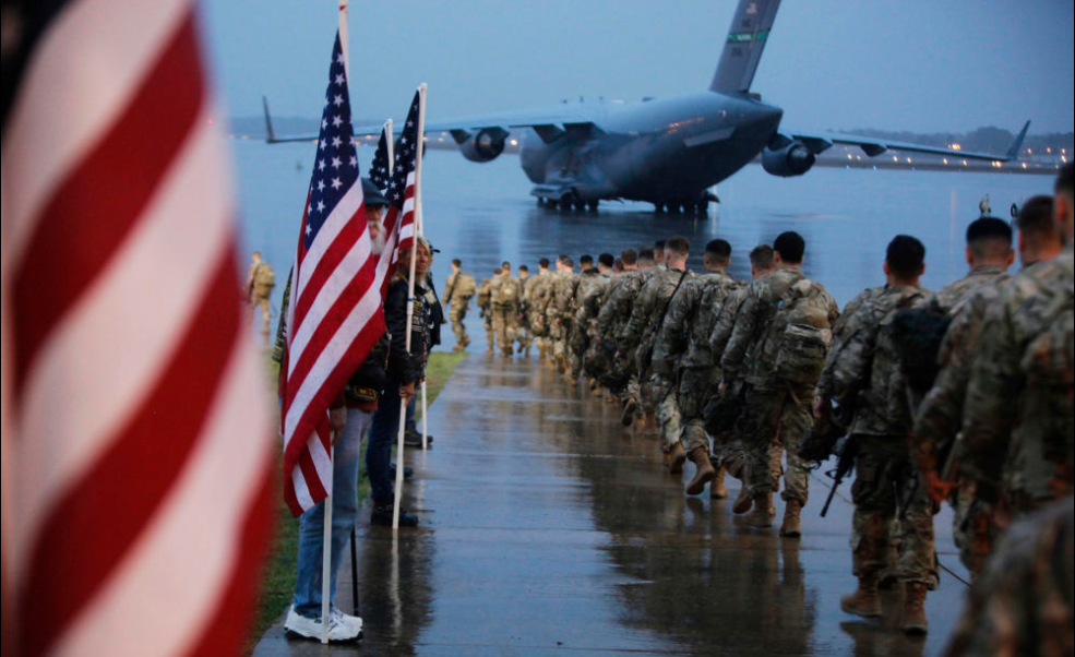 """""""We're Going to War, Bro"""": Elite 82nd Airborne in Largest 'Fast Deployment' Since 2010"""