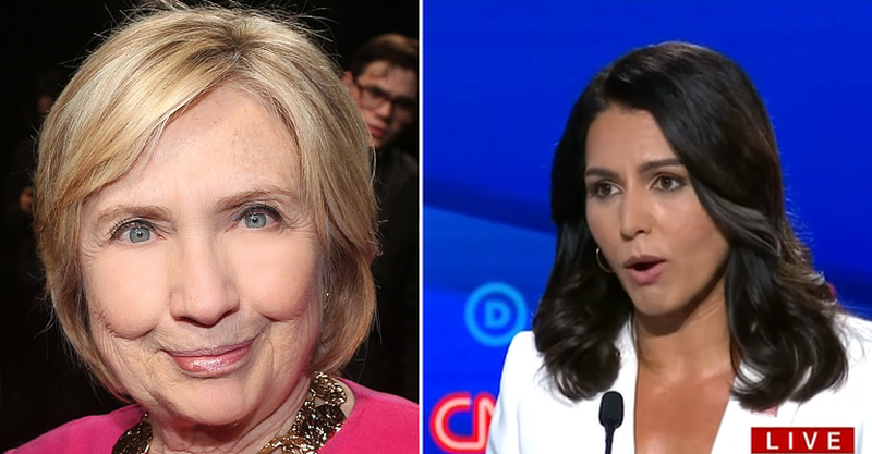 No One Is Above The Law? Hillary Clinton Refuses To Be Served Tulsi Gabbard Lawsuit