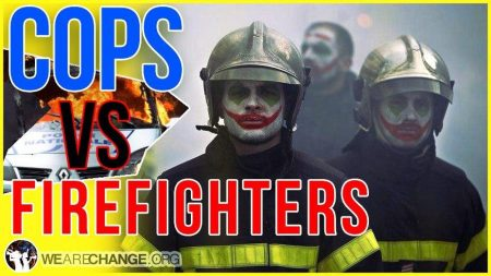 Police vs. Firefighters in Paris Battle Royale! Is This Really a New Peace Plan??