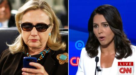 "Tulsi Gabbard Sues Hillary Clinton Over ""Russian Asset"" Remark"