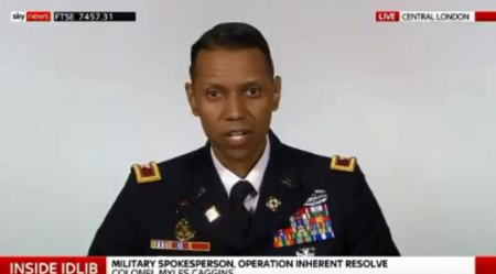 Pentagon 'Accidentally' Tells The Truth About Syria