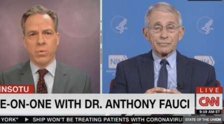"""Dr. Fauci: """"We're Going To Have Millions Of Cases"""" And """"Between 100K to 200K Deaths"""""""