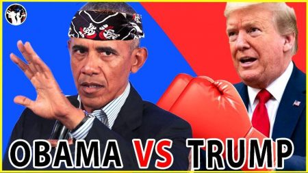 Trump vs. Obama: The Gloves Are Off!