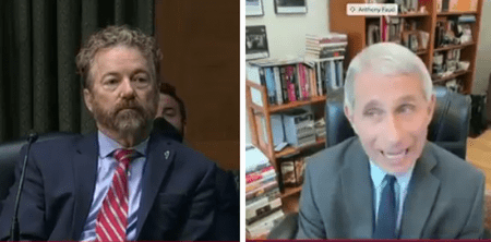 """You're Not the End All"": Rand Paul Slams Dr. Fauci in Heated Exchange Over Lockdowns"