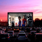 Restaurants Across the US Turn Parking Lots Into Drive-In Movie Theaters and Find Huge Success