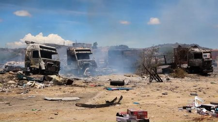 As COVID-19 Grips Yemen, Saudi Warplanes Target Trucks Full of Medical Supplies
