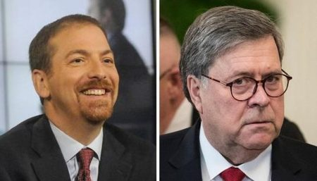 Trump Furious After NBC Apologizes for Chuck Todd's Propaganda Edit of Barr Interview
