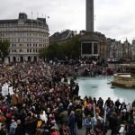 """""""We Do Not Consent"""": Thousands Rally in London to Oppose Another COVID-19 Lockdown"""