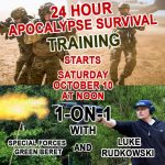 Exclusive 24-Hour Apocalypse Survival Training: 1-on-1 With Special Forces Green Beret & Luke Rudkowski