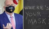 """Maryland Governor Expands COVID-19 Snitch Line, Says """"No Constitutional Right"""" to Go Maskless"""