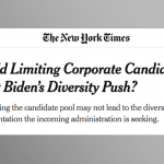MSM Already Helping Next Administration Hide Corruption Under 'Diversity' Banner