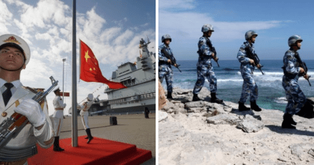 China to Hold Military Drills in Gulf of Tonkin as Warning to Nearby U.S. Carrier Group