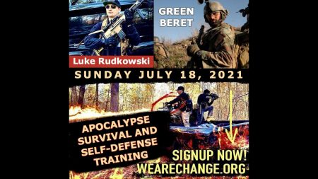EXCLUSIVE APOCALYPSE SURVIVAL & SELF-DEFENSE TRAINING WITH .50 CALIBERS: 1-ON-1 WITH WITH SPECIAL FORCES GREEN BERET & LUKE RUDKOWSKI