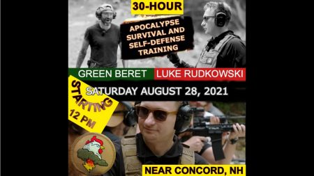 30-HOUR EXCLUSIVE WILDERNESS-INTENSIVE APOCALYPSE SURVIVAL TRAINING WITH SPECIAL FORCES GREEN BERET & LUKE RUDKOWSKI