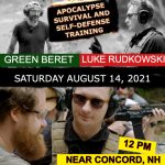EXCLUSIVE INTERROGATION RESISTANCE APOCALYPSE SURVIVAL SELF-DEFENSE TRAINING WITH SPECIAL FORCES GREEN BERET & LUKE RUDKOWSKI
