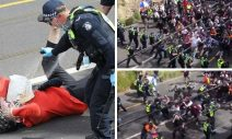 Stunning Videos Show Thousands of Anti-Lockdown Protesters in Australia Plow Through Police as Clashes Erupt
